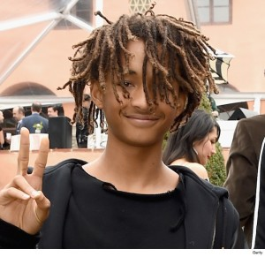 BEVERLY HILLS, CA - FEBRUARY 07: (EXCLUSIVE COVERAGE) Actor Jaden Smith and singer Willow Smith attend Roc Nation and Three Six Zero Pre-GRAMMY Brunch 2015 at Private Residence on February 7, 2015 in Beverly Hills, California. (Photo by Larry Busacca/Getty Images For Roc Nation)